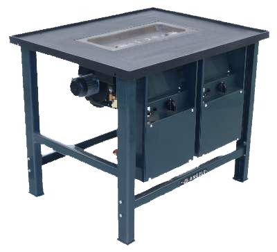 Gas-smidsvuur G 1000-7 E  (Aardgas)