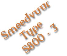 Smeedvuur Type S800-3