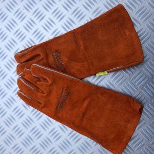Zware Lashandschoen Oranje Small